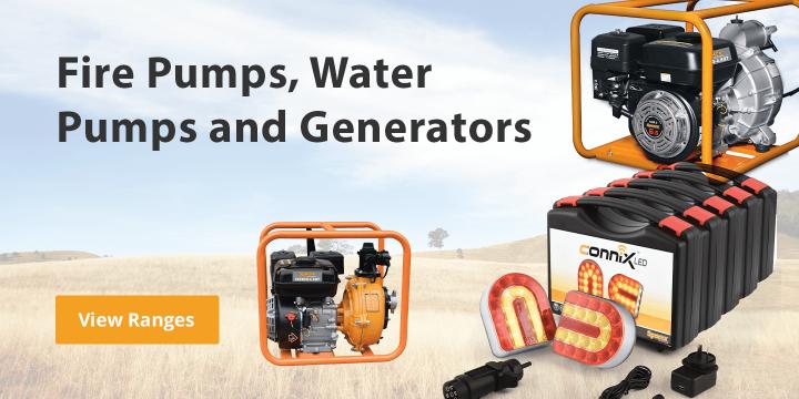 Water Pumps, Fire Pumps and Generators